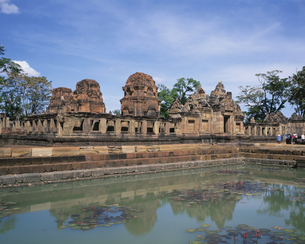 ムアンタム遺跡公園      バンタコ タイの写真素材 [FYI04077259]