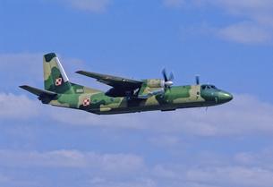 ポーランド空軍アントノフAn26輸送機の写真素材 [FYI04077269]