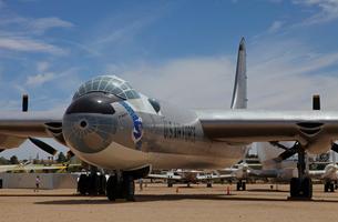 アメリカ空軍コンベアB-36戦略爆撃機の写真素材 [FYI04077284]