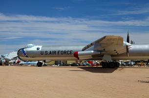 アメリカ空軍コンベアB-36戦略爆撃機の写真素材 [FYI04077285]