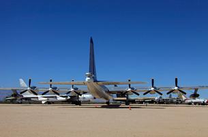アメリカ空軍コンベアB-36戦略爆撃機の写真素材 [FYI04077286]
