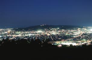日本平を望む夜景の写真素材 [FYI04077808]