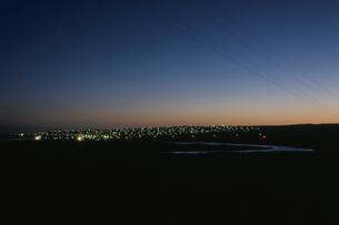 ジェフリーズベイの夜景の写真素材 [FYI04077875]