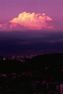 ドナ・マルタ展望台から見たグアナバラ湾の写真素材 [FYI04077879]