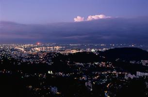 ドナ・マルタ展望台から見たグアナバラ湾の写真素材 [FYI04077882]