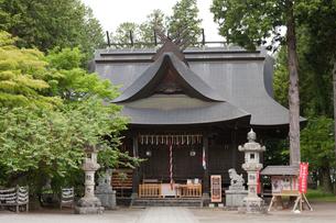 冨士御室浅間神社 里宮 の写真素材 [FYI04078218]