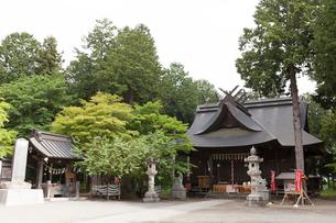 冨士御室浅間神社 里宮 の写真素材 [FYI04078220]