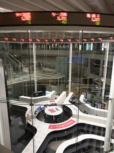 東京証券取引所の写真素材 [FYI04078232]