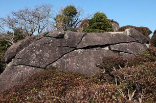 須佐高山(すさこうやま)の磁石石の写真素材 [FYI04078298]