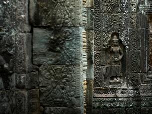 カンボジア シェムリアップ バンテアイ・クディの写真素材 [FYI04078433]