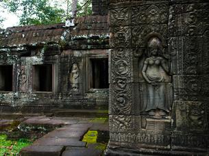 カンボジア シェムリアップ バンテアイ・クディの写真素材 [FYI04078434]