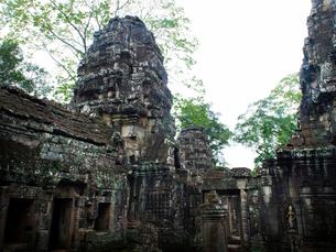 カンボジア シェムリアップ バンテアイ・クディの写真素材 [FYI04078437]