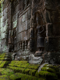 カンボジア シェムリアップ バンテアイ・クディの写真素材 [FYI04078440]
