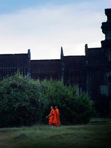 カンボジア シェムリアップ アンコールワットの写真素材 [FYI04078449]