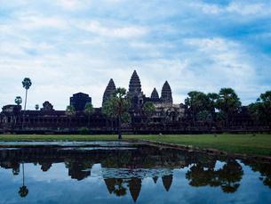 カンボジア シェムリアップ アンコールワットの写真素材 [FYI04078451]