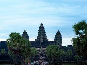 カンボジア シェムリアップ アンコールワットの写真素材 [FYI04078452]