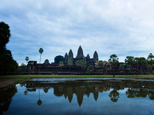 カンボジア シェムリアップ アンコールワットの写真素材 [FYI04078454]