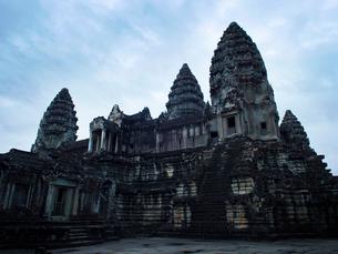 カンボジア シェムリアップ アンコールワットの写真素材 [FYI04078457]