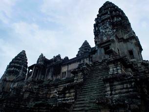 カンボジア シェムリアップ アンコールワットの写真素材 [FYI04078458]