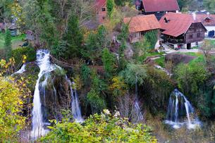 クロアチア ラストケ村の写真素材 [FYI04078504]