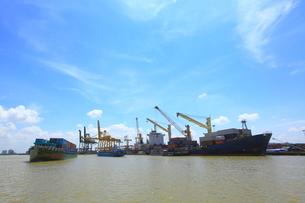 サイゴン港の写真素材 [FYI04078684]