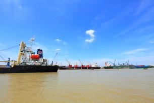 サイゴン港の写真素材 [FYI04078688]
