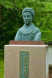 下田歌子(平尾鉐 )の像の写真素材 [FYI04078923]