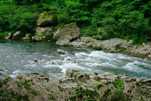 中山七里・飛騨川 の写真素材 [FYI04079187]