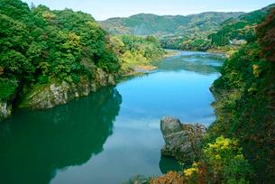 秋の蘇水峡の写真素材 [FYI04079197]