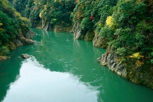 秋の蘇水峡の写真素材 [FYI04079204]
