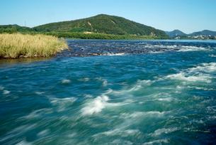 木曽川の急流,の写真素材 [FYI04079229]