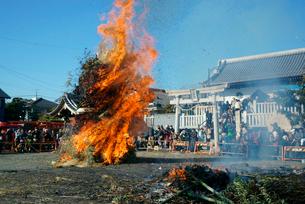 今尾左議長祭り,今尾秋葉神社の写真素材 [FYI04079245]
