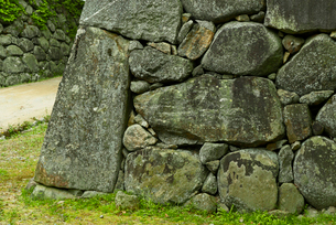 松坂城 鐘ノ櫓の石垣の写真素材 [FYI04079552]