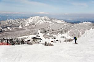 蔵王温泉スキー場パラダイスゲレンデの写真素材 [FYI04079643]