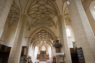 要塞聖堂内部の写真素材 [FYI04079712]