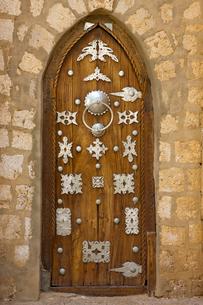 シディ・ヤヒヤ・モスクの扉の写真素材 [FYI04079780]