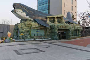 長生捕鯨文化村 の写真素材 [FYI04079932]