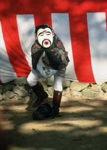 干立の節祭 オホホの舞の写真素材 [FYI04080172]