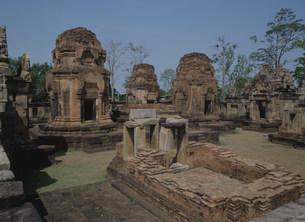 ムアン・タム寺院 クメール遺跡の写真素材 [FYI04080331]