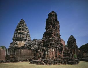ピーマイ遺跡 中央神殿の写真素材 [FYI04080630]