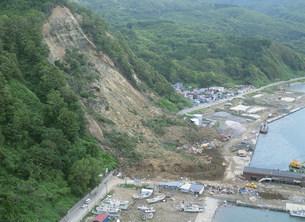 奥尻地区地震被害の写真素材 [FYI04080693]