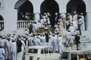 イスラム教の葬儀の写真素材 [FYI04080770]