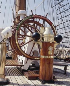 帆船ポルトガル船籍サグレス号の写真素材 [FYI04080777]