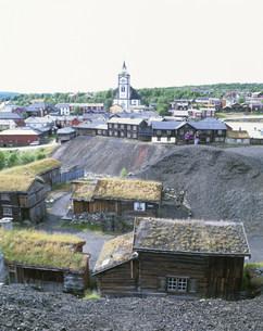 レーロースの旧鉱山町の写真素材 [FYI04080800]