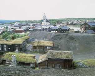 レーロースの旧鉱山町の写真素材 [FYI04080803]