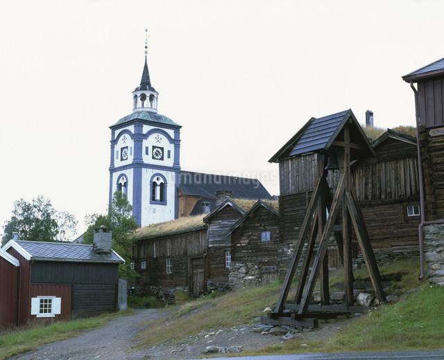 レーロースの旧鉱山町の写真素材 [FYI04080804]