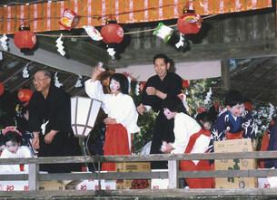 天宮神社例大祭の写真素材 [FYI04080876]
