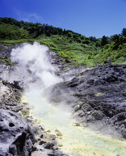 玉川温泉 大噴の写真素材 [FYI04080984]