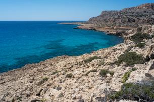 グレコ岬の青い海の写真素材 [FYI04081269]