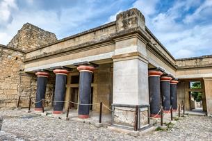 クノッソス宮殿王宮地区の写真素材 [FYI04081299]